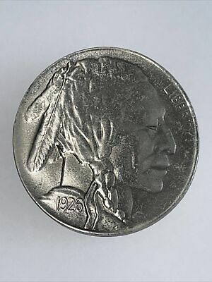 Vintage Indian Head Liberty Knickle 1926 Mens Great American Belt Buckle Co 1979