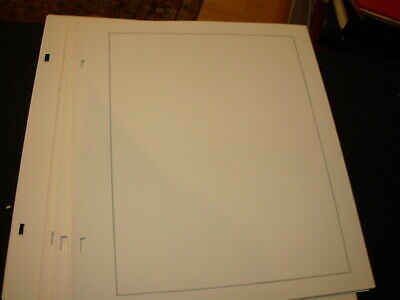 Pack Of 90+ Blank Scott Specialty Album Pages!