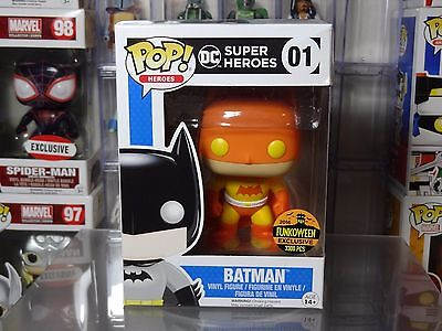 Funko POP! DC Harvest Batman Funkoween Exclusive - *Damaged Box*