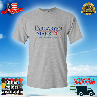 Targaryen Stark 2020 Election T-Shirt Funny Donald Trump Game of Thrones Parody
