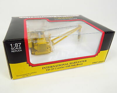 New First Gear International Harvester Td-25 Crawler With Side Boom 1:87 Scale