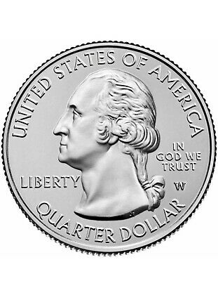 FREE SHIPPING 2019 W Mint Mark Lowell National Park Quarter - UNCIRCULATED