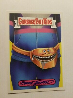 GARBAGE PAIL KIDS WE HATE THE 90's 2019 Autograph Card 10/25 Fashion Sticker