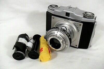 Vintage Goldeck Roll Film Pullout Camera, Tested. Uses Available Film. Germany