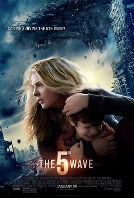 The 5th Wave movie poster  : Chloe Grace Moretz poster : 11 x 17 inches : (A)