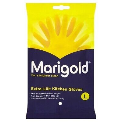 Marigold Extra-Life Kitchen Gloves Large, 1 Pair