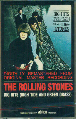 New Sealed 2 Cassette Set Rolling Stones Greatest Hits ABKCO 23 Tracks Last Copy