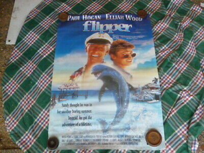 Flipper Paul Hogan  1  Sheet Video Game  Poster Aust