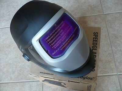 3M Speedglas 9100V Darkening Welding Helmet w/Side Windows, Hornell Speedglass