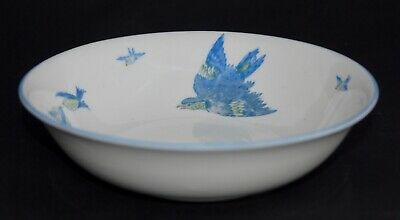 Antique Heathcote China BLUE BIRD Cereal/Dessert Bowl (Multi Avail) - Rd 557909