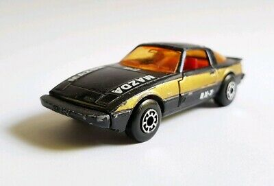 Matchbox Mazda Rx7 Black Loose