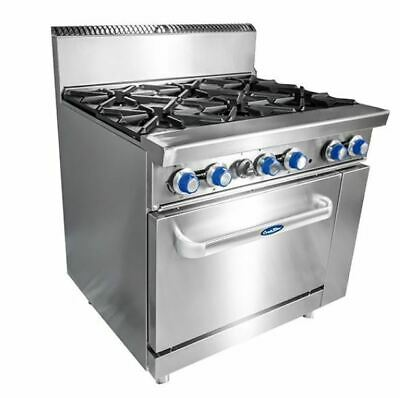 COOKRITE 6 BURNER WITH OVEN ATO-6B-F,Cafes,Takeaway,Restaurants,Catering Trucks