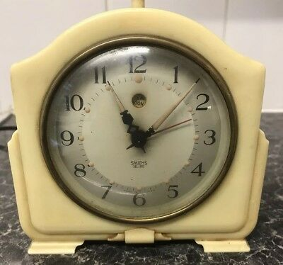 smiths bakelite sectric Mantle Clock
