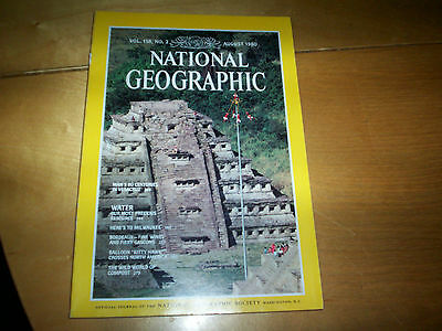 national geographic magazine vol 158 no 2 august 1980