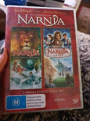 The Chronicles Of NARNIA The Lion The Witch And The Wardrobe Walt Disney DVD