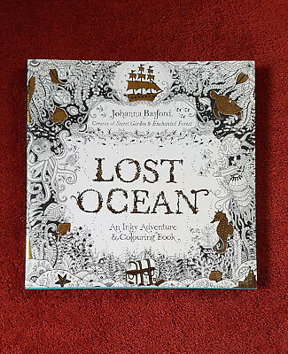 NEW Lost Ocean - Inky Adventure & Colouring Book by Johanna Basford