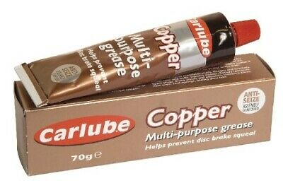 Copper Grease Multi Purpose Anti Sieze Slip Assembly Compound 70g Tube UK Made.