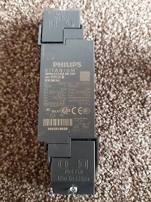 Philips xitanium 36w 0.3-1.05a 48v 230v led driver new