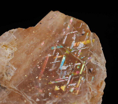 3cm RAINBOW LATTICE SUNSTONE, Australia - Sunstone Cabochon 38032