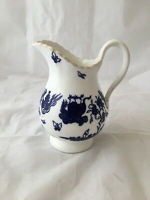 Antique English Chinese decorated porcelain cream jug c. 1880