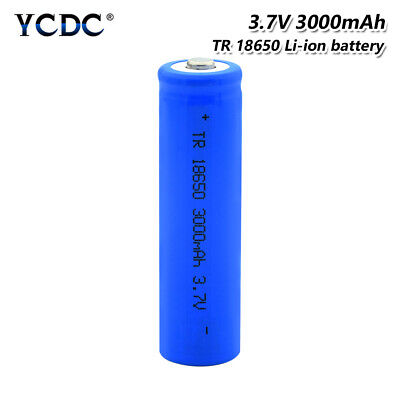 Rechargeable 18650 Li-ion Battery 3.7V 3000mAh For Flashlight Headlamp Torch E5