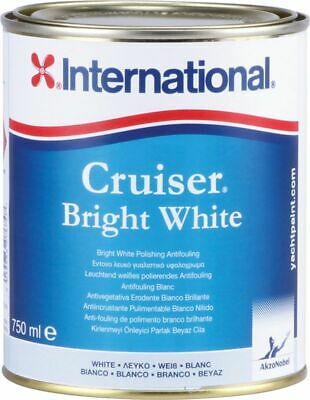 Antifouling International Cruiser Blanc Brillant Ml.750