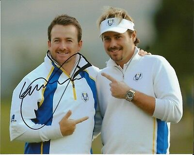 Hand Signed 8x10 photo GRAEME MCDOWELL US OPEN GOLF CHAMPION Ryder Cup + my COA