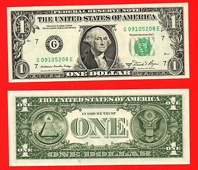 United States 1981A 1 dollar banknote