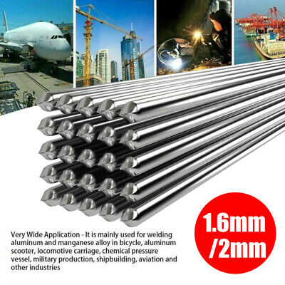 5/10/20X Low Temperature Easy Aluminum Welding Rods 50cm for Repair Soldering