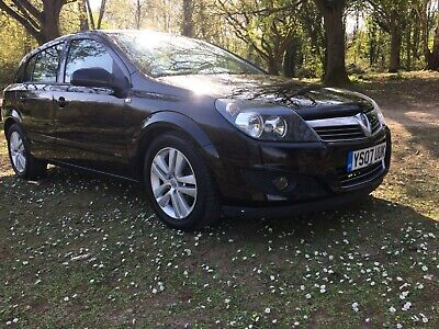 2007 Vauxhall Astra 1.4 Sxi Twinport*below Average Miles*history*long Mot*