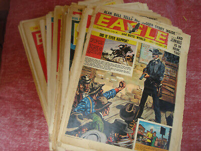 Eagle Comics - 25 issues, F-G condition 1950 - 1965