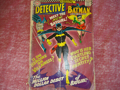 Detective Comics 359 - first appearance of Batgirl! Poor condition