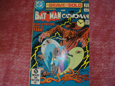 Brave & Bold 198 - Batman & Catwoman, Earth-2 story, VG condition, 1983