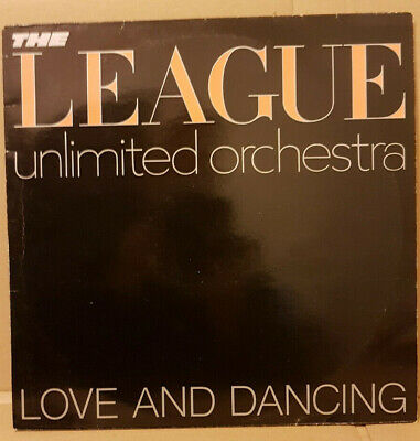 The League Unlimited Orchestra ‎– Love And Dancing / Virgin ‎– OVED 6 / 1982 LP