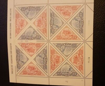 US Mint Never Hinged Postage Stamps Scott #3130-31 Pacific '97   Sheet of 16