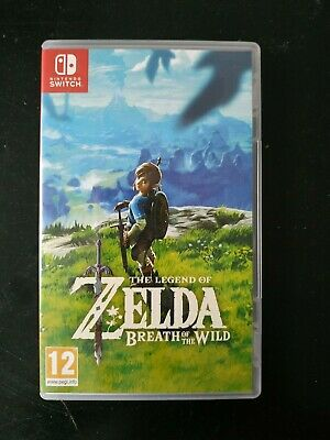 The Legend Of Zelda Breath Of The Wild Nintendo Switch Comme Neuf