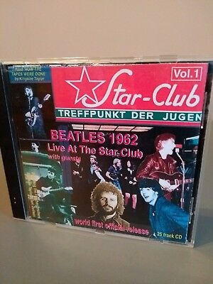 Live At The Star Club,1962 Volume 1 by The Beatles | CD | condition very good