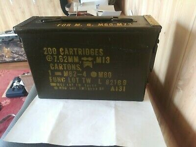 3 PACK M19A1 7.62 / 308 30 Cal AMMO CAN GOOD CONDITION. Empty will ship same day