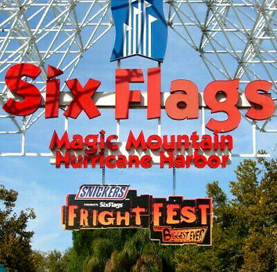 Six Flags MAGIC MOUNTAIN TICKETS $55 PROMO SAVE DISCOUNT TOOL