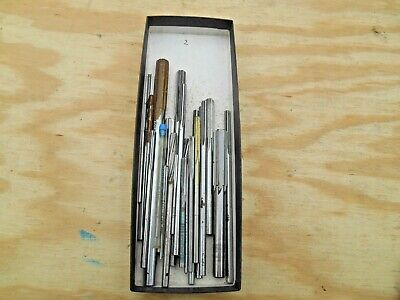 "Machinists Hss Chucking  Reamers , Lot ""2""  Of 25"