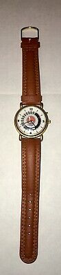 LIONEL Collectible Train Wrist Watch/genuine Leather Band