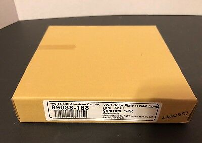 VWR COLOR SPOT PLATE 12 CONCAVE CAVITIES 112MM LONG 89038-188 New in Box