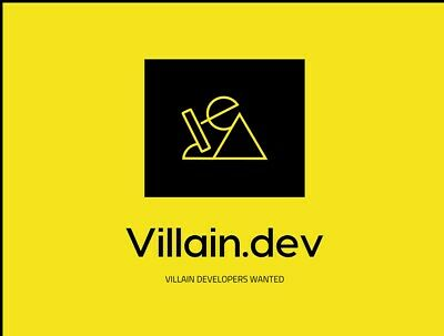 V I L L A I N . D E V domain name (.co going for 20,000 & .com for $190,000 USD)