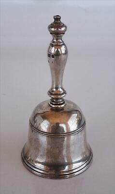 c. 1937 LONDON ENGLAND STERLING SILVER DINNER/TABLE BELL HALLMARKED MARKED