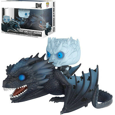 2019 Funko Pop! Rides: Game of Thrones - Night King On Dragon Collectible Figure