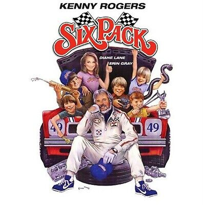 Six Pack * Diane Lane Kenny Rogers = DVD ( All Region NTSC ) Free Post Aus