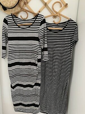 Two Target Maternity Dresses Size 10-12