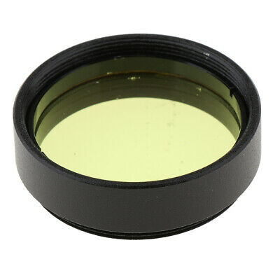 """Yellow Color Telescope Eyepiece Filter for Orion Astronomy Accessory 1.25"""""""
