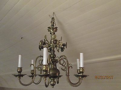 Antique Chandelier  - Electrified