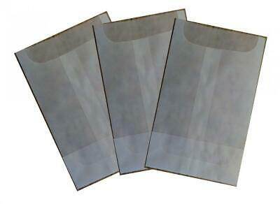 New Ashnook Glassine Envelopes or bags: 130mm x 200mm, 100 pack